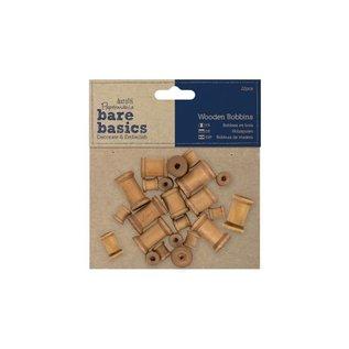 Antieke houten spoelen 22st