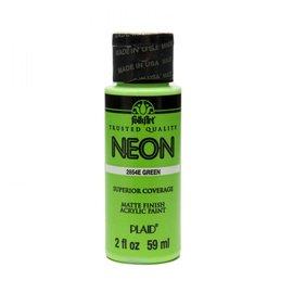 FolkArt FolkArt Neons 59ml Groen