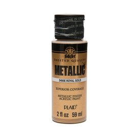 FolkArt FolkArt Metallics 59ml Royal Gold