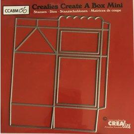 Crealies dies Create a Box Milk Carton