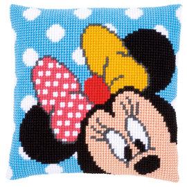 Disney Kruissteekkussen kit Disney Minnie kiekeboe
