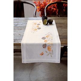 Vervaco Loper kit Oranje grassen met vlinder