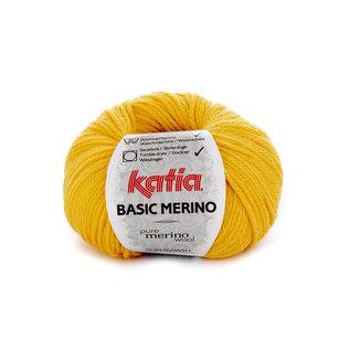 Katia BASIC MERINO 64 Geel bad 40318A