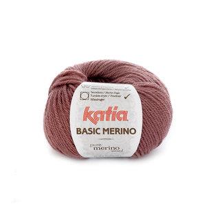 Katia BASIC MERINO 74 Oud roze bad 40321A