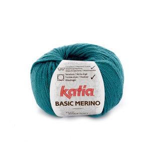 Katia BASIC MERINO 39 Groenblauw 40314A