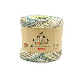 Katia FAIR COTTON CRAFT 175 803 Mintgroen-Citroengeel-Turquoise 36646