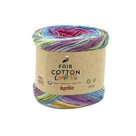 Katia FAIR COTTON CRAFT 175  805 Oranje-Fuchsia-Blauw 36648