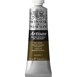 Winsor&Newton Winsor&Newton Artisan water mixable oil colour Raw Umber serie 1  37ml.