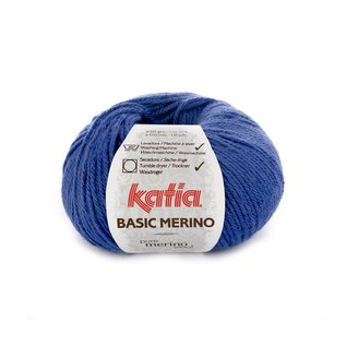 Katia Basic Merino 45 Blauw bad 43151A
