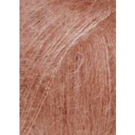 Lang Yarns MOHAIR LUXE 0128 Oud roze bad 209002