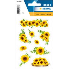 Herma Stickers zonnebloemen 3 vellen