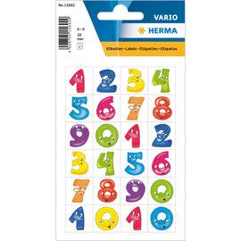 Herma Stickers getallen 3 vellen