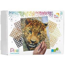 PixelHobby Pixel kit luipaard | 9 basisplaten