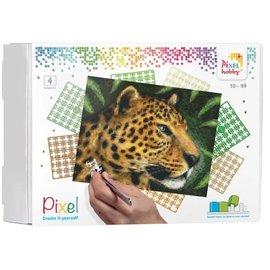 PixelHobby Pixel kit luipaard | 4 basisplaten
