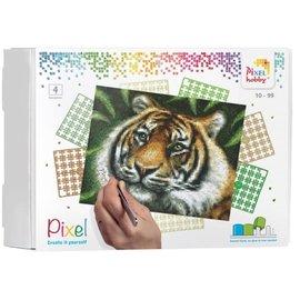 PixelHobby Pixel kit tijger | 4 basisplaten