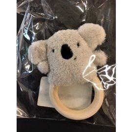 DMC Bijtring mini Koala Grijs
