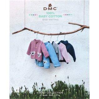 DMC Boek DMC Baby Katoen patroonboek EN-NL-DE