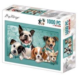 Amy Design Puzzel 1000 pc - Amy Design - Dogs +/- 68x49cm