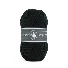 Durable Durable Cosy Fine 50 gram zwart 3803