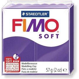 Fimo FIMO Soft Boetseerklei 57g. pruim