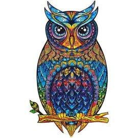 Houten puzzel Charming Owl (184 stukjes, 16,3x28,3 cm) **