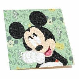 Diamond Painting - Crystal Card Kit Disney Happy Mickey