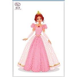 Diamond Painting - Crystal Stickers Pink Princess