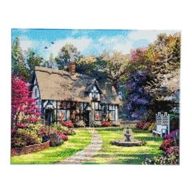 Diamond Painting - Crystal Art Country Cottage landscape