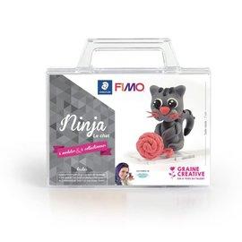 "Fimo Fimo set  ""Ninja De kat"""