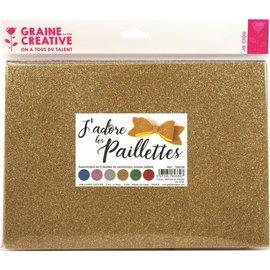 Foam - Rubber vellen - Glitter forever (6 st)