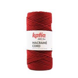 Katia Macrame Cord 111 rood bad 42165