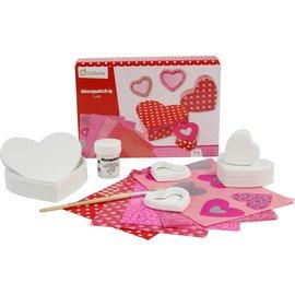 Avenue Mandarine Creative box, Decopatch LOVE