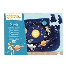 Avenue Mandarine Puzzel, Solar systeem 76 pcs