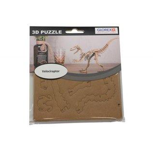 3D-puzzel velociraptor