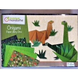 Avenue Mandarine Creatieve box, Origami dinosaurus