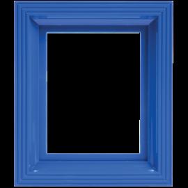 Pixel kader voor 1 basisplaat signaal blauw