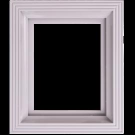 Pixel kader voor 1 basisplaat licht-grijs