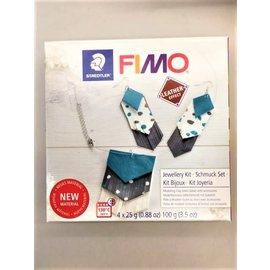 Fimo Leather-effect Diy set - Jewellery kit