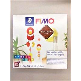 Fimo Fimo leder-effect set Hanger