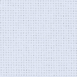 Zweigart Stern Aida 14ct 110cm lichtblauw per meter