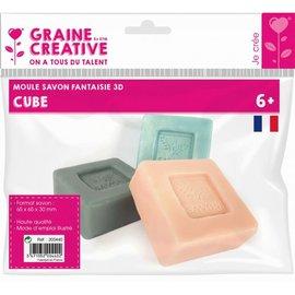 Gietvorm voor zeep kubus