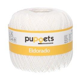 Puppets Eldorado dikte 12 50g 07001 wit bad 262032