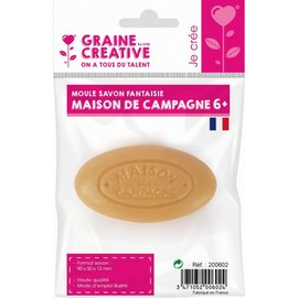 Gietvorm voor zeep M. de Champagne