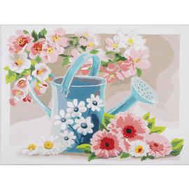 Painting by Numbers kit Gietertje met bloesem