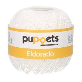Puppets Puppets Eldorado 100g dikte 06 wit 07001 bad 262093