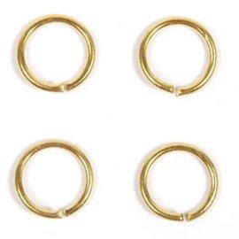 Ring 6.50mm goud ca.100st.