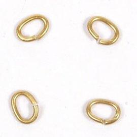 Ring 3,50x2,10 goud ca.100st.
