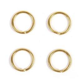 Ring 5mm goud ca.100st.