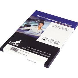 Zelfklevende Etiketten Kangaro A4 - 16/blad - 105x35mm