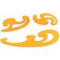 burmesterset Aristo 3 delig geel transparant